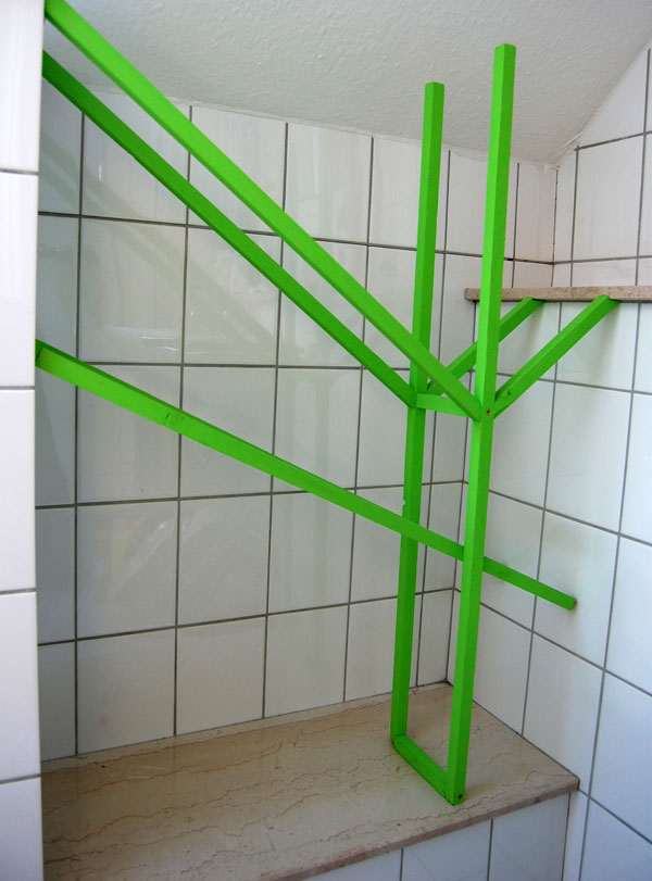 Experimental Bathroom Rack, empty