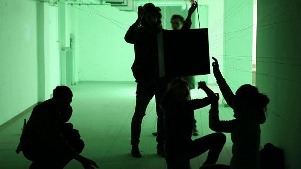 Black Cube – interactive sound sculpture